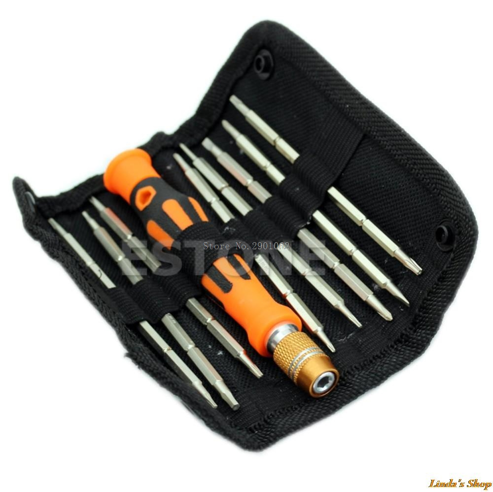 9in1 2Ways Design Repair Tools Kit Set Screwdriver For Electronics Repairs Nice Gifts -B119