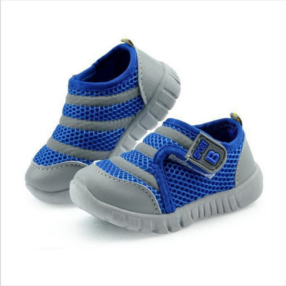 Breathable Kids shoes toddler Boys Girls Shoes for Children Casual Sport Running baby Shoes Mesh/Net cotton Soft 17-22 Size(China (Mainland))