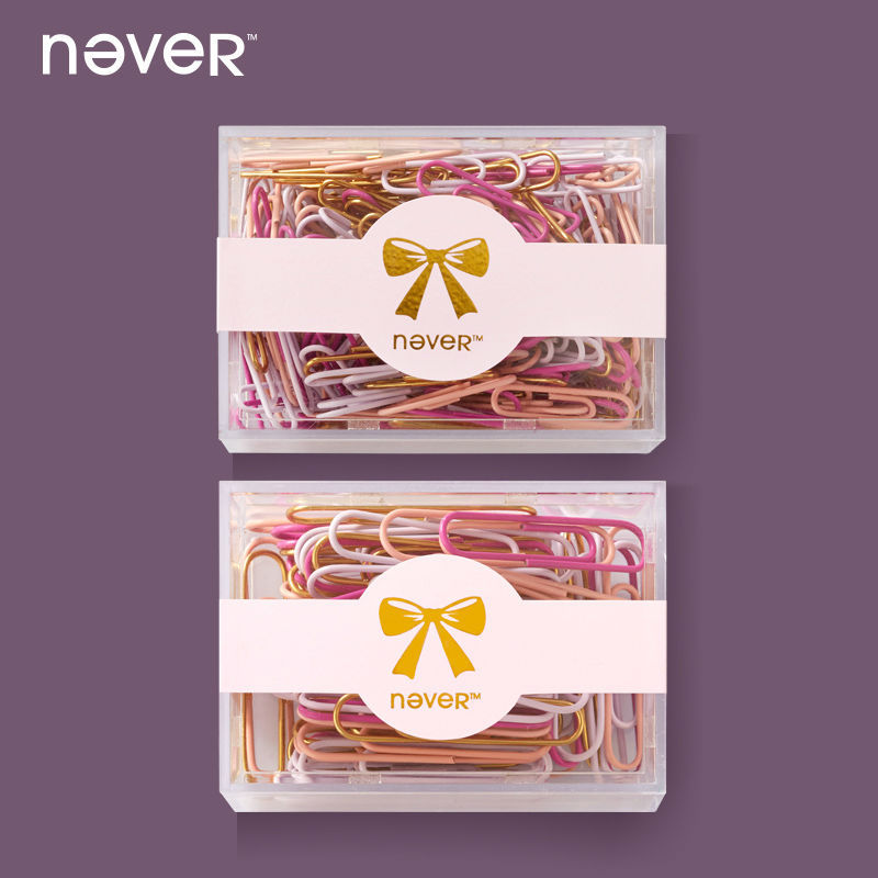 never Paper Clip,Metal,Fashion modelling,Christmas stationery set, Christmas gifts(China (Mainland))