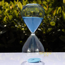Fashion Excellent Quality Hourglass 60Minute Count Down Timer Sand Clock Timing Art Decorative Sandglass ampulheta Free shipping(China (Mainland))