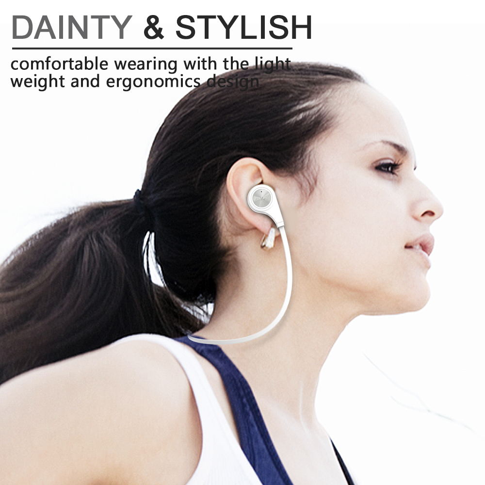 SoundTOP(TM) New Fashion Q9 Wireless Bluetooth Stereo Earphone Headset Sport Running With Mic Five Colors Earbuds Onear In-Ear(China (Mainland))