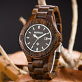 Free Shipping Mens Wooden Watches Top Brand Luxury Watch 2016 Newest Japan Movement Zebra Wood Men Big Wristwatches Best Gift
