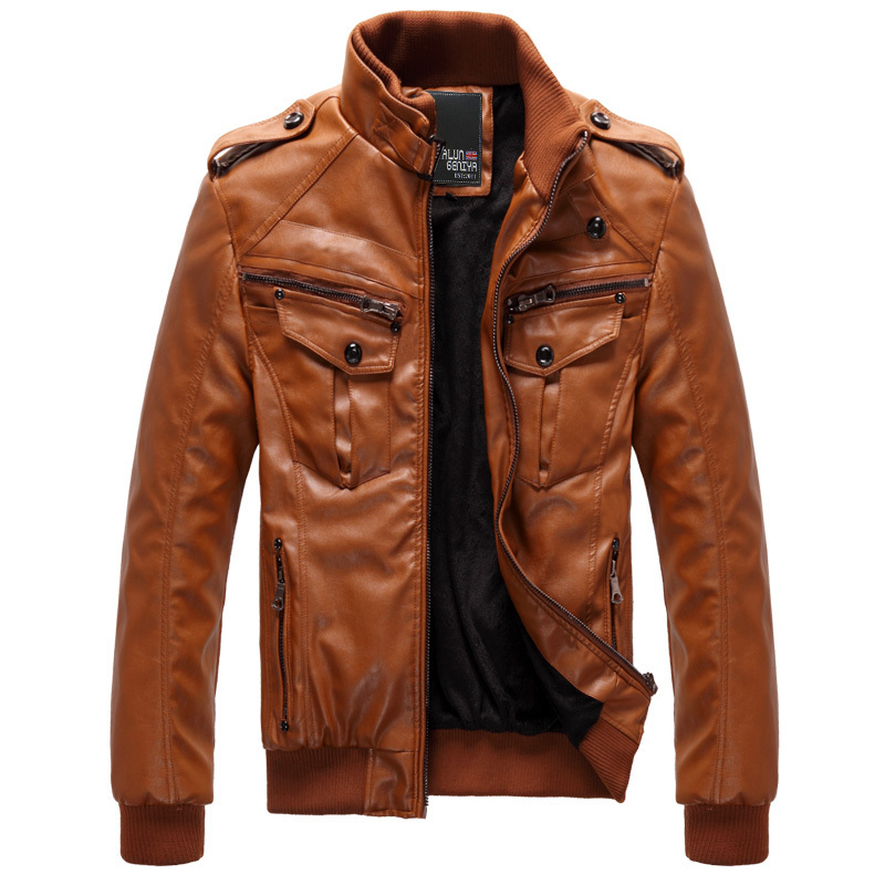 Mens Brown Jacket Photo Album - Fashion Trends and Models
