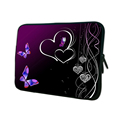 Elegant Butterfly Cover Zipper Funda Bolsa Portail Neoprene Bag Sleeve Cases For 7 7 9 10