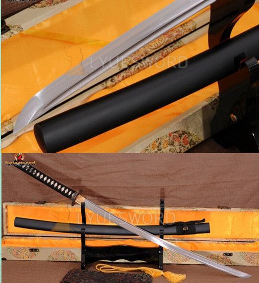 Здесь можно купить  Japanese Samurai Sword KATANA 1060High Carbon Steel Full Tang Blade Cut Bamboo  Дом и Сад