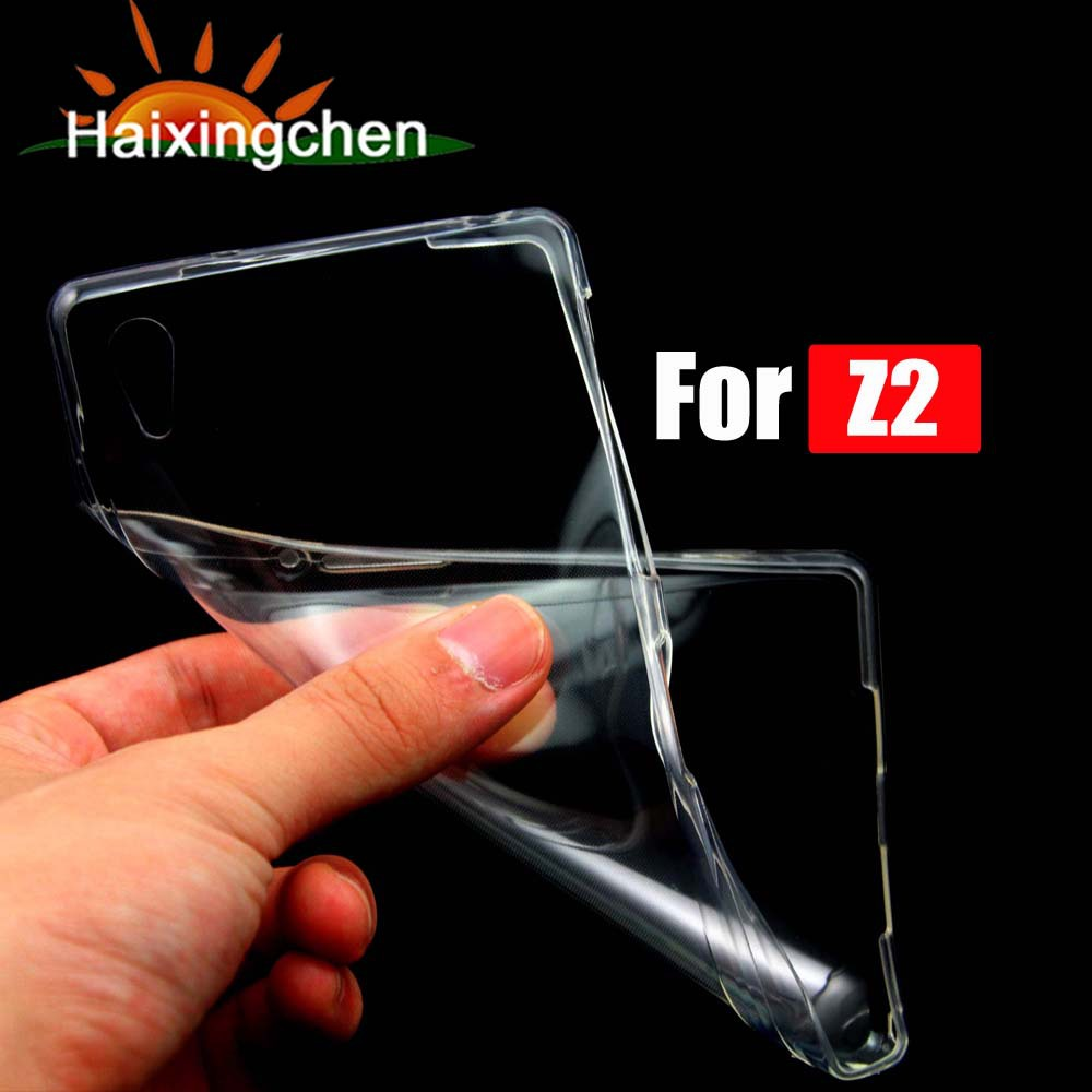 For Sony Xperia Z2 D6503 / Z3 D6653 L55T / Z2 Mini / T3 Flexible High Quality Crystal Clear Transparent Soft TPU Back Case Cover(China (Mainland))