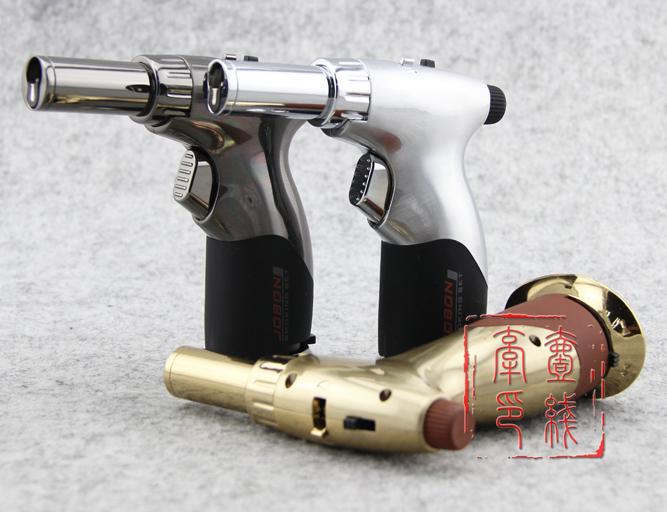 Japanese professional jobon gas welding gun big straight into the spray gun multifunctional windproof lighter 529 torchy(China (Mainland))
