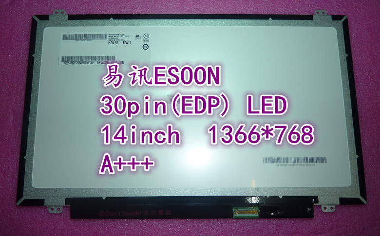 14.0 slim LED screen LP140WH2 TPS1 LTN140AT31 N140BGE-EA2 N140BGE-E33 B140XTN02.A B140XTN03.3 LP140WHU (TP) (A1) HB140WX1-501<br><br>Aliexpress
