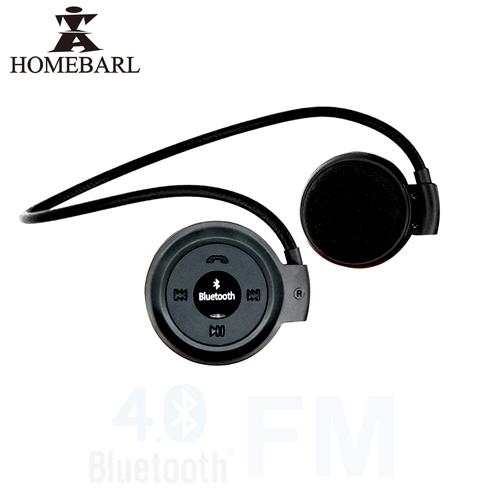 HOMEBARL Mini503 Bluetooth 4.0 Headset Mini 503 Sport Wireless Headphones Music Stereo Earphones+Micro SD Card Slot+FM Radio 6B4(China (Mainland))