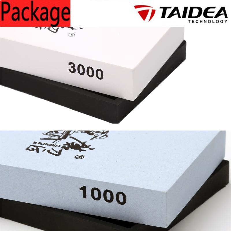 TAIDEA 3000Grit; 1000Grit Knife sharpener ,corundum sharpening stone T0928W + T0911W(China (Mainland))