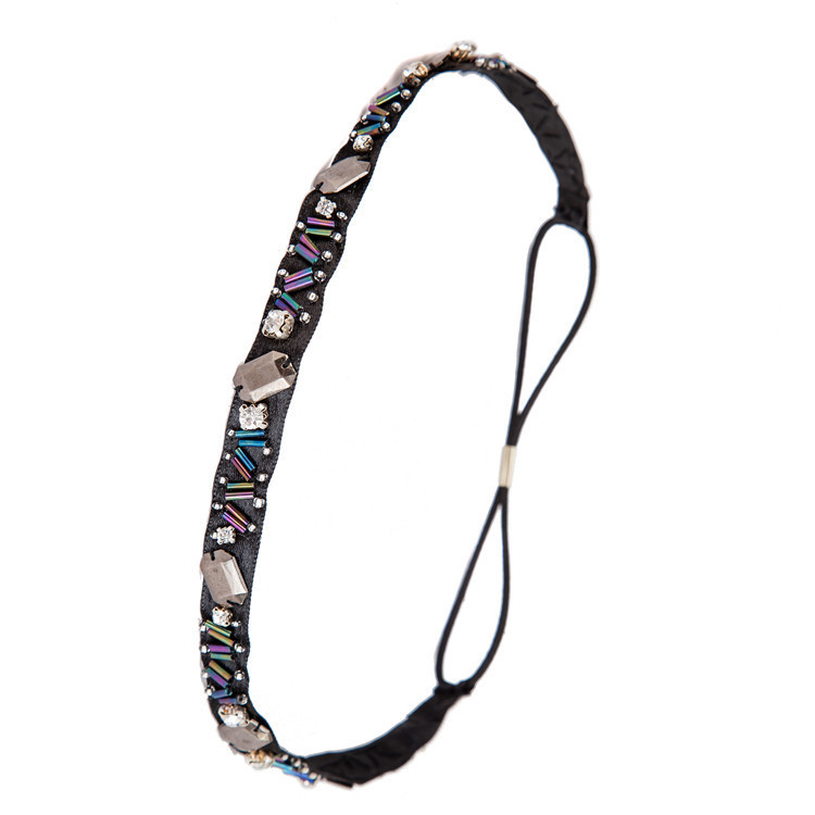 MENG 2015 New Exquisite Beads Hair Ornaments Ethnic Style Headband Rhinestone Hairwear HD06262(China (Mainland))