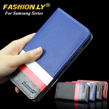Buy Luxury Brand leather case wallet stand card slot business Phone cover Samsung Galaxy A3 A310 A5 A510 A7 A710 2016 for $2.99 in AliExpress store