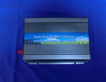 High efficiency, 500W Grid tie inverter with 22V~60VDC input, AC90~140V output, Free shipping (CP-WVGTI-500W)