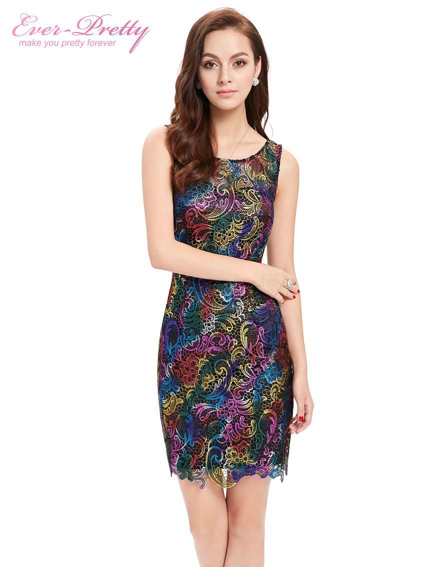 Коктейльные Платья AP05304BK Тех Довольно 2016 Женщин Шею Короткий Летнее Платье Мода Нового Прибытия Летом Стиль Платье Для Коктейля