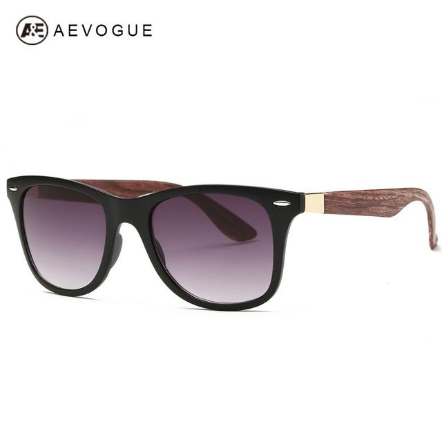 Aevogue людей Aritificial текстура древесины храм дизайн лето стиль унисекс солнцезащитные очки старинные óculos де соль AE0327