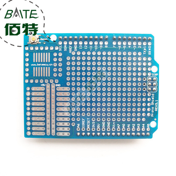 Standard Proto Screw Shield Board For Arduino Compatible Improved version support A6 A7(China (Mainland))