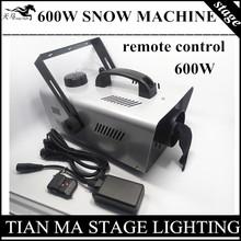 600W snow machine /remote + Wire control wedding snow machine professional stage DJ equipment Snowmaking machine(China (Mainland))
