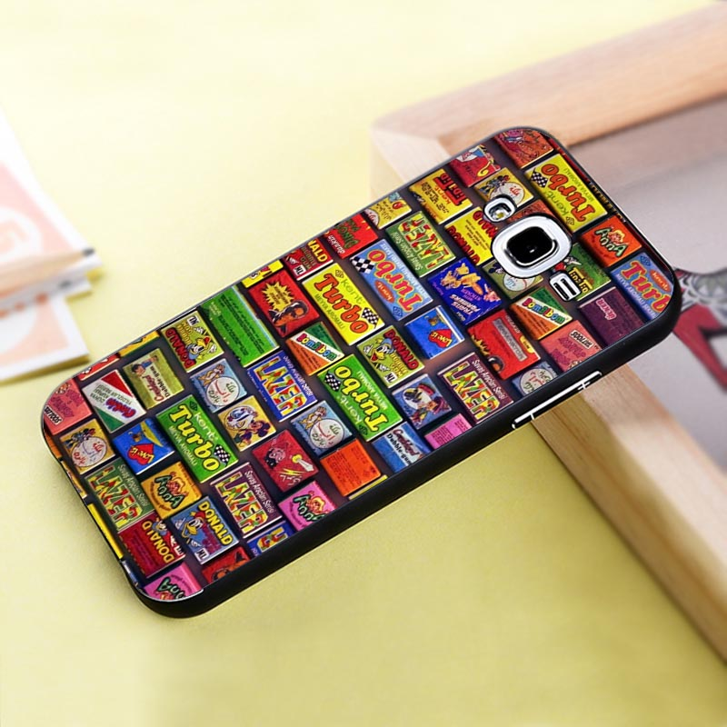 Kinds Of Chewing Gum Make Your Phone Uniquely Plastic Cell Phone Shells Cases for Samsung J5(China (Mainland))