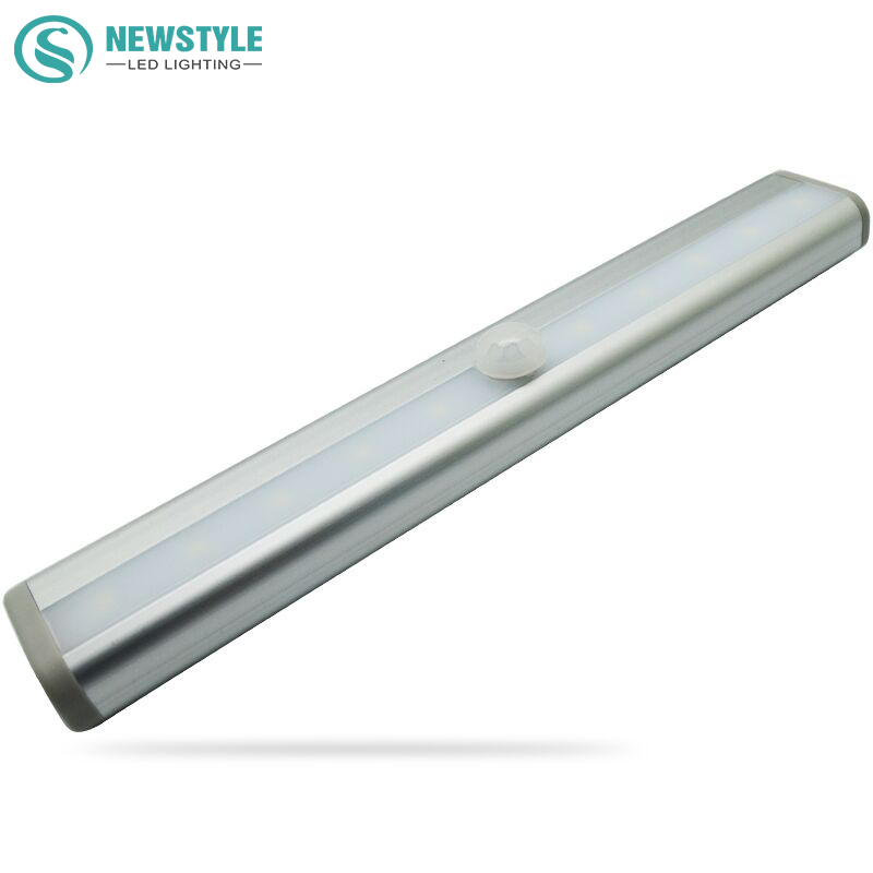 SMD3528 LED IR Infrared Motion Detector Sensor Light Closet Cabinet Lamp Wireless Using AAA battery lights(China (Mainland))