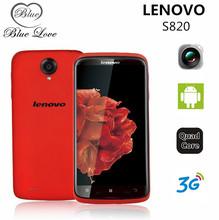 Origianl Lenovo S820 сотовые телефоны андроид 4.2 MTK6589 четырехъядерных процессоров 1.2 ГГц 4 г ROM 4.7 '' 1280 * 720 P IPS 13.0Mp WIFI WCDMA GPS русский