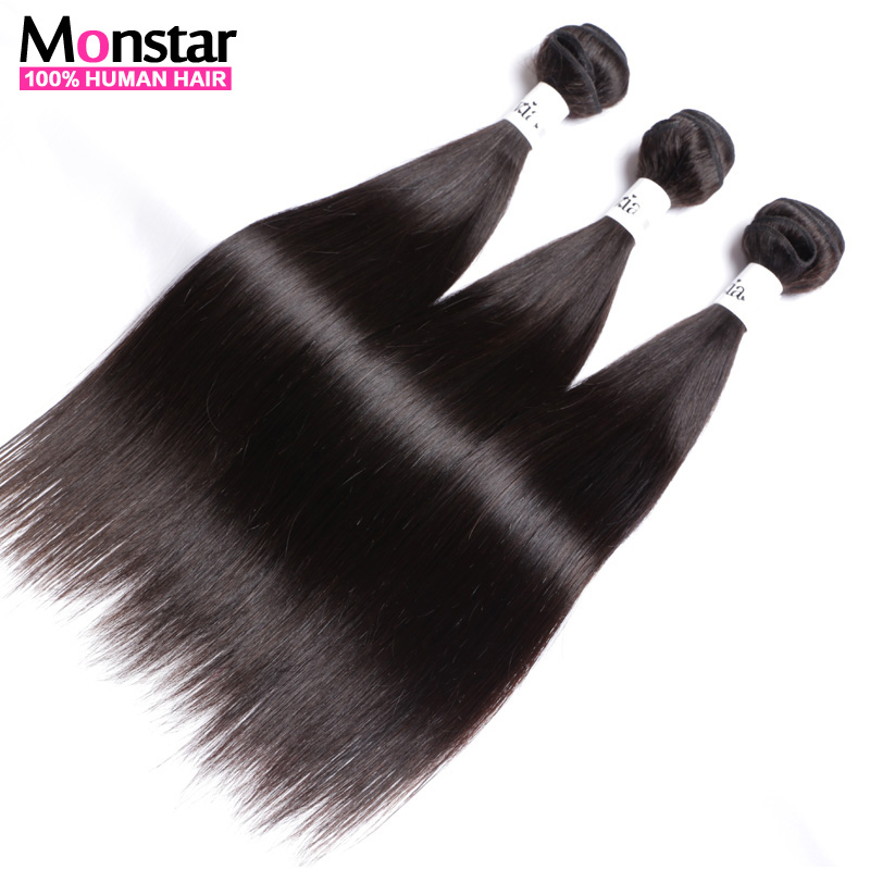 Indian virgin hair weave 3pcs lot Mixed Length remy hair 8inch to 30inch indian straight virgin hair,7 Day Return Gurantee(China (Mainland))