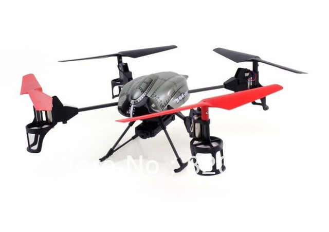 WL V959 Lastest 2.4G 4-Axis 4CH RC QuadCopter Helicopter with Camera, Lights and Gyro better than V929,V949,V911 free shipping