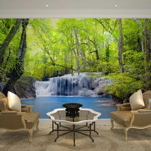 Custom wall decor murals papel de parede 3d nature landscape wallpaper mural for living room bedroom tv sofa background decal(China (Mainland))