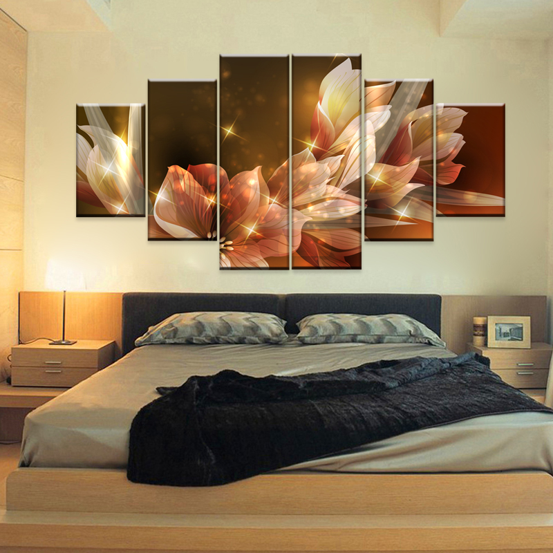 Tableau abstrait triptyque for Decoracion hogar living