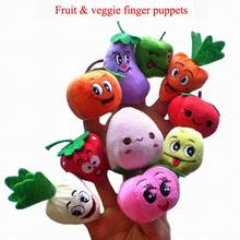 Variety optional Plush Finger Puppets Stuffed Doll Baby Kids Students Educational Hand Cartoon Animals Soft Toy(China (Mainland))