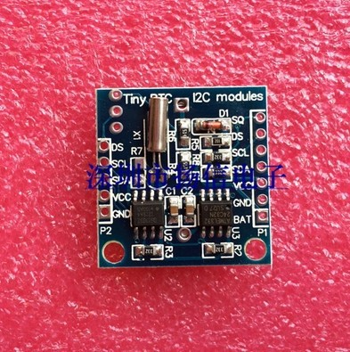New I2C RTC DS1307 AT24C32 Real Time Clock Module For AVR ARM PIC Wholesale(China (Mainland))