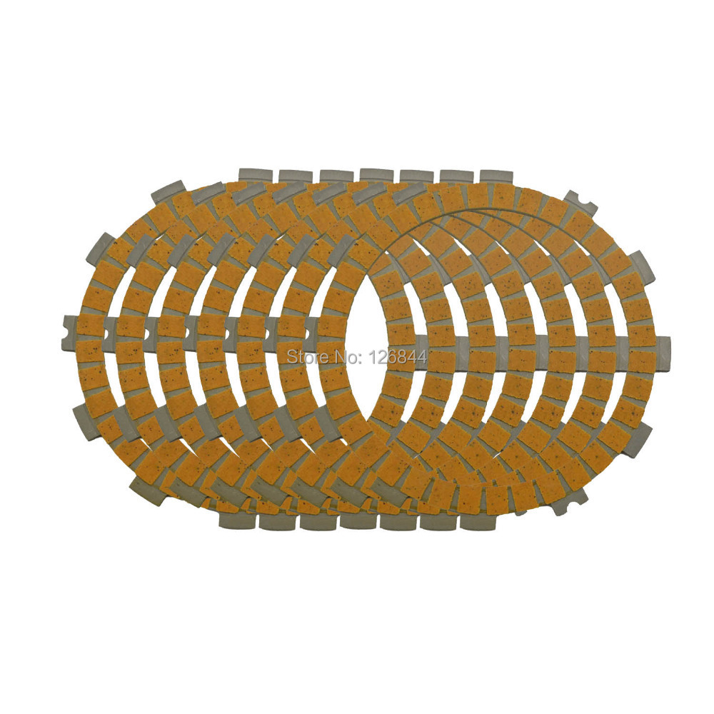 CLUTCH FRICTION PLATE FITS FOR KAWASAKI KX125 KX 125 1997 1998 1999 2000 2001 2002 2003 04 2005 7x FRICTION PLATES<br><br>Aliexpress
