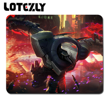 Buy League Legends 300*250*2mm Large Gaming Mouse Pad Locking Edge Mouse Mat Control/Speed Version Lol CS Dota2 Mousepad for $1.98 in AliExpress store