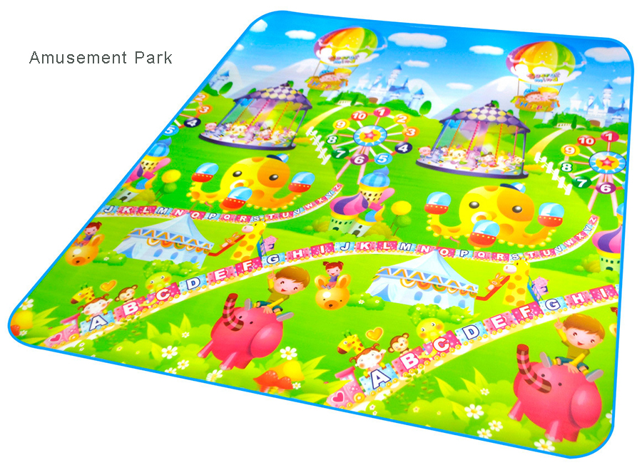 NEW Crawling Mat for Babies Play Mat for Baby Children Kids Soft Double-faced Letter Castle Safe Gym Floor Mat Climb Blanket(China (Mainland))