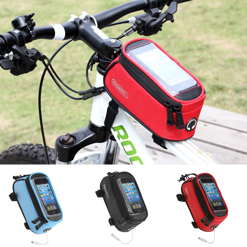 Roswheel Men Women Bag to Bike Bag Bicycle Bag for iPhone ...