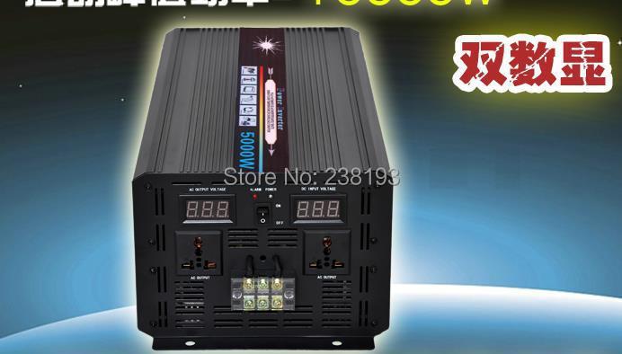 5000w 5000Watt DC 36V to AC 220V-240v inverter.Solar maximum starting power 10000w pure sine wave inverter,(China (Mainland))
