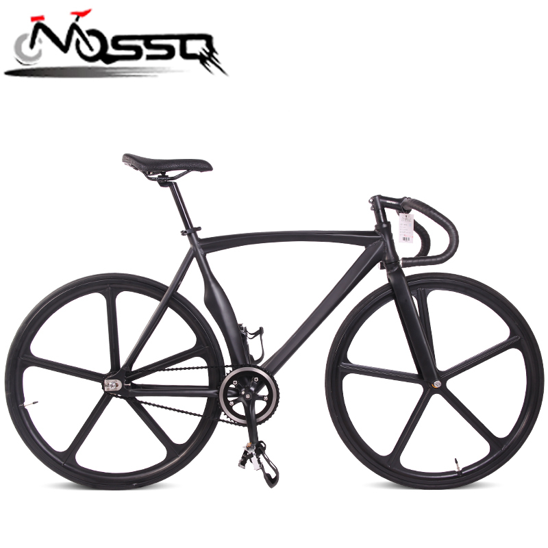 New fixed bike single speed hub 700cc aerospoke wheel road cycle big discount shipment from china(China (Mainland))