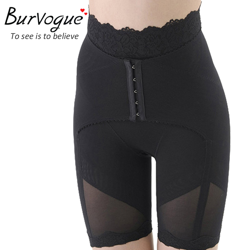 Burvogue Underwear Bodysuits Waist Cincher Tummy Body Control Slimming High Waist Girdle Butt Lift Shaper For Plus Size Women(China (Mainland))