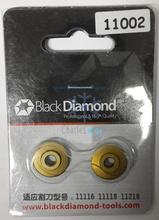 2 unids/lote diamante negro Original hoja 11002 modelo para 11116 / 11118 / 11218 cortador de tubo de herramientas de refrigeración