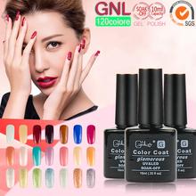 LED UV Nail Polish Soak-off UV Nail art Gel Temperature Change Color Gel Nail Polish GNL(China (Mainland))