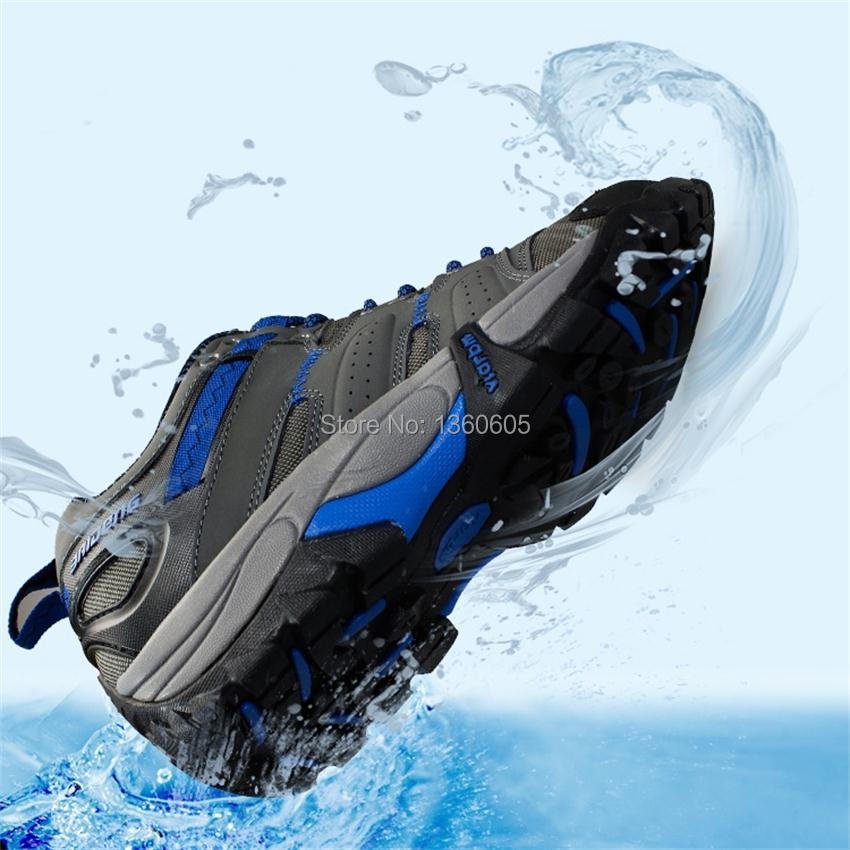 cross country breathable leather outdoor men hiking shoes senderismo climbing sneakers hunting trekking outventure shoes men(China (Mainland))