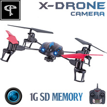 FLT H07C 4CH RC Quadcopter RTF with Camera 2.4G LCD Display 6-Axis GYRO Remote Control Helicopter Toys
