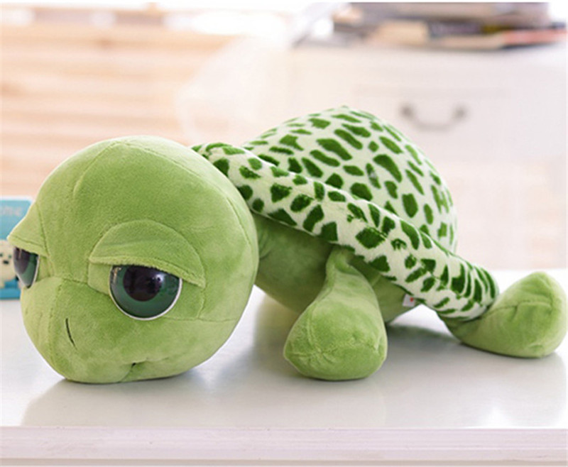 Cute Green Sea Turtles Plush Toy Stuffed Animal Toys For Kids Children Sleeping Comfort Doll Birthday Gifts 15CM(China (Mainland))