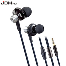 Buy Original JBMMJ 9013 Metal Super Bass In-ear Earphones Volume Control Mic Headsets iphone Sony Xiaomi Mp3 PC 3.5mm for $13.50 in AliExpress store