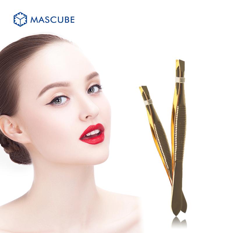 [MASCUBE]Fashion Beauty Tool Eyebrow Tweezer Hair Removal Tool Women's Beauty Nake-up Tweezers Appliances maquiagem(China (Mainland))