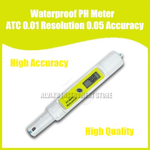 Free Shipping Waterproof PH Meter High performance 0.01pH<br><br>Aliexpress
