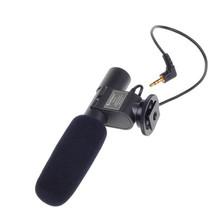 Photo Studio Accessories COOL SG-108 Stereo Shotgun Microphone for CANON NIKON PENTAX OLYMPUS PANASONIC D-SLR