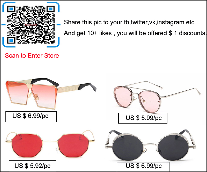 peekaboo sunglasses sns advertising