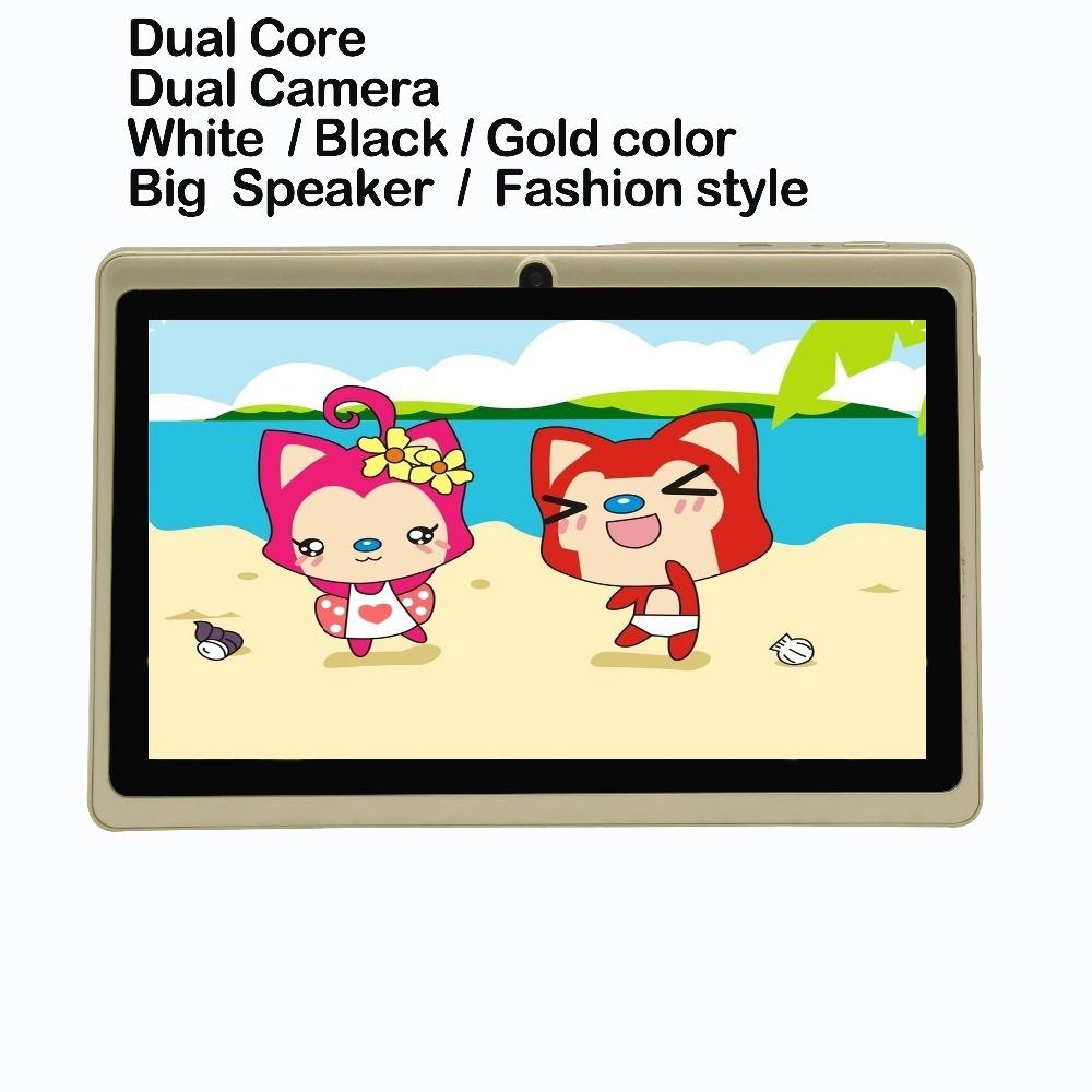 7 inch Android4.4 good quality Tablets pc wifi bluetooth OTG 1GB 16GB Quad Core Dual Camera 1G 16G Big Speaker(China (Mainland))