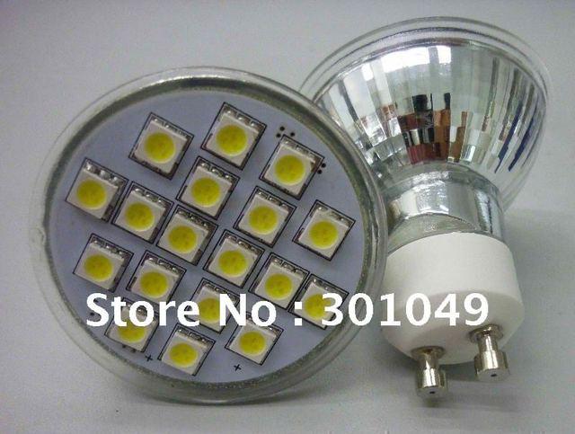 12v auto led light gu10 5050 18leds