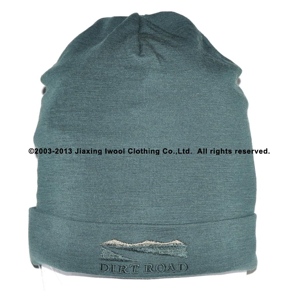 100% Super Fine merino wool men women unisex Beanie Hat sports warmer thermal winter outdoors Wicking Anti bacterial cap(China (Mainland))
